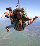 Saut parachute en tandem au Luc